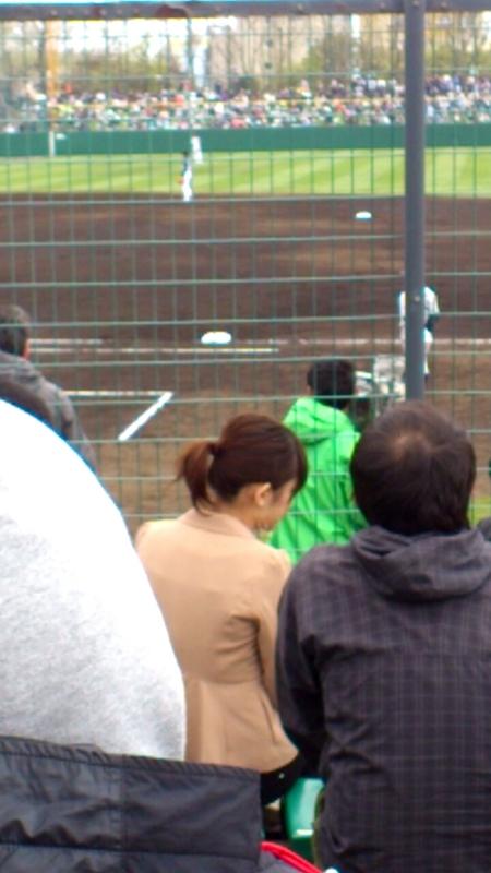 函館オーシャンスタジアムで開催されたプロ野球公式戦はファイターズが勝利_b0106766_02368.jpg