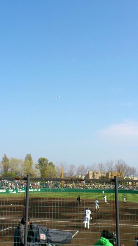 函館オーシャンスタジアムで開催されたプロ野球公式戦はファイターズが勝利_b0106766_023712.jpg
