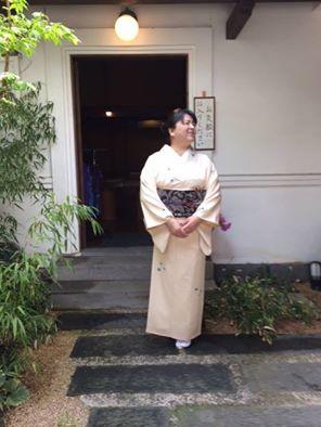 田畑喜八の小紋でお茶席へ_d0230676_1123651.jpg