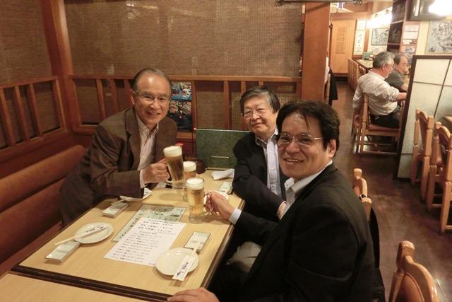 全日空の旅富士山は最高、素敵な仲間たちありがとう、魚海船団神田司町本のお店で大学時代の仲間と_d0181492_10515996.jpg