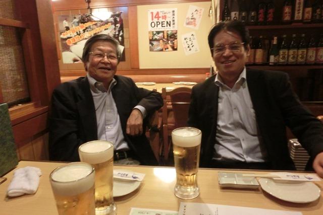 全日空の旅富士山は最高、素敵な仲間たちありがとう、魚海船団神田司町本のお店で大学時代の仲間と_d0181492_10522158.jpg