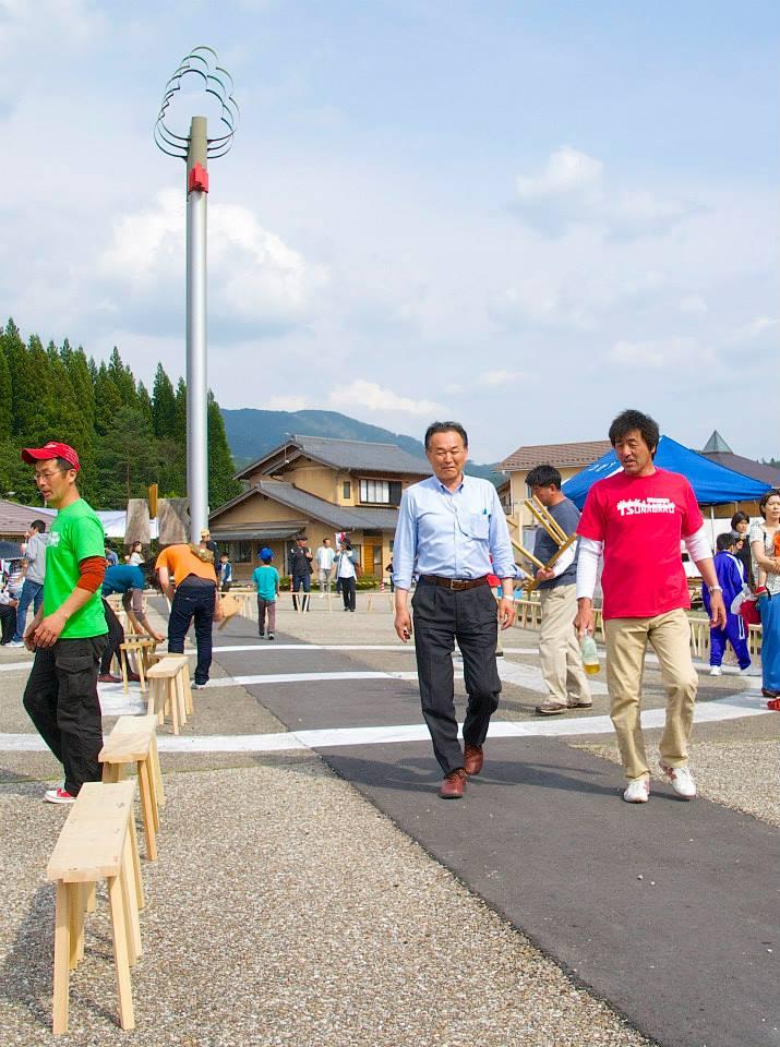 2014「つけち森林の市」ツナガルベンチ・イベント終了!祝日本一!!_a0299898_1283647.jpg