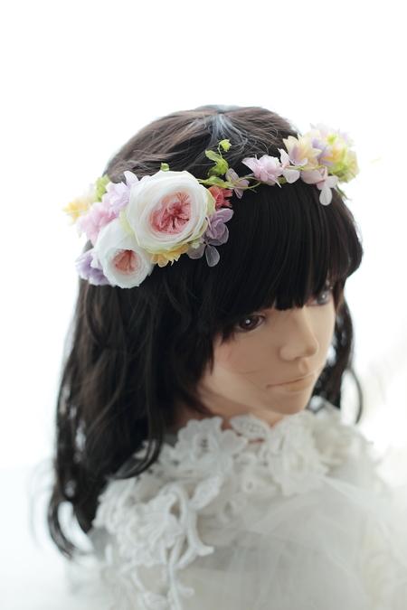 二次会用の花冠とリストレット 日比谷パレス様へ_a0042928_22553116.jpg