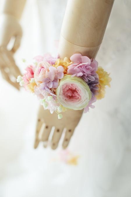 二次会用の花冠とリストレット 日比谷パレス様へ_a0042928_22554188.jpg