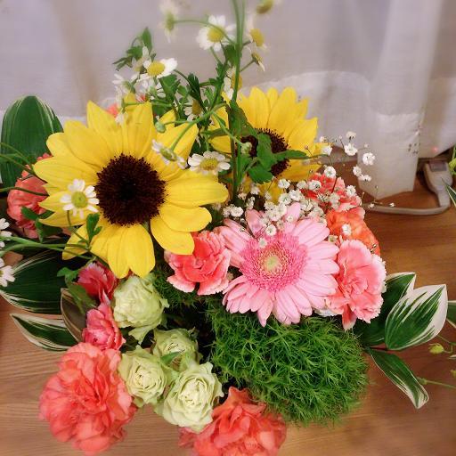 お花のお礼_c0264744_1418222.jpg