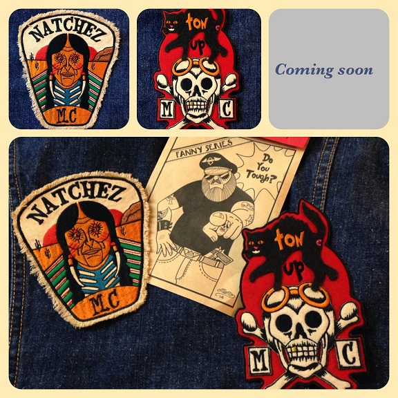 MOTOR CYCLES PATCH   TOMMY GUN×MANO_c0198582_1635313.jpg