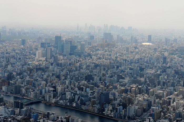 東京スカイツリーからの展望_b0093088_7115093.jpg