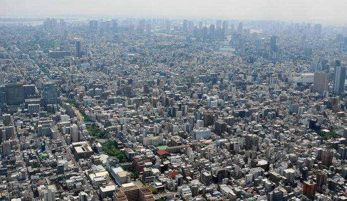 東京スカイツリーからの展望_b0093088_711753.jpg