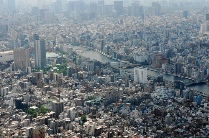 東京スカイツリーからの展望_b0093088_7123483.jpg