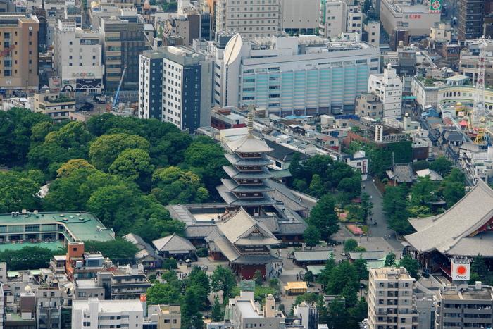東京スカイツリーからの展望_b0093088_7152341.jpg