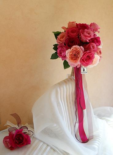 Wedding  Bouquets 05.11 Hさま  カラードレスに_c0128489_21584879.jpg