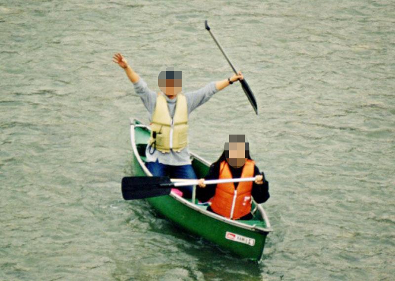 河口の夕焼け_c0136239_0484163.jpg