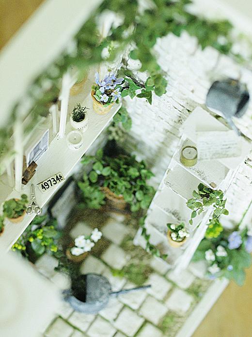 miniature* Naturel Cafe 外観完成_e0172847_10301390.jpg