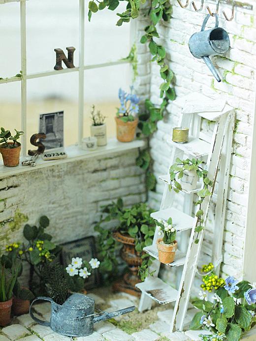 miniature* Naturel Cafe 外観完成_e0172847_9581253.jpg