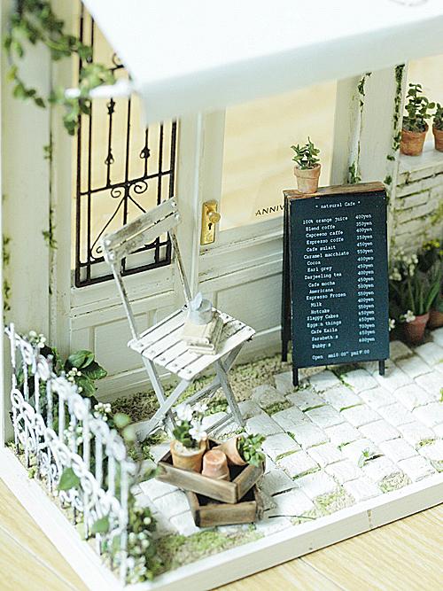 miniature* Naturel Cafe 外観完成_e0172847_9583816.jpg