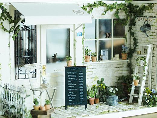 miniature* Naturel Cafe 外観完成_e0172847_9585864.jpg