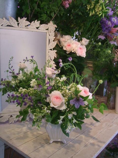 オークリーフ花の教室(山田さんの作品)_f0049672_183159100.jpg