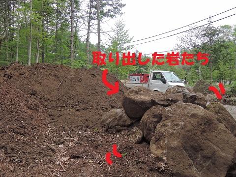 長坂町H野さん邸の現場より 4_a0211886_23442151.jpg