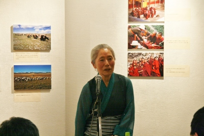 渡辺一枝さん、チベットの現状を語るトークの会開かる_d0178431_14040610.jpg