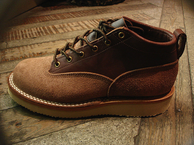 "NEW : [NICK\'S BOOTS] ""OXFORD 4inch\"" Oiled & Rough Out Leather !!_a0132147_2114222.jpg"