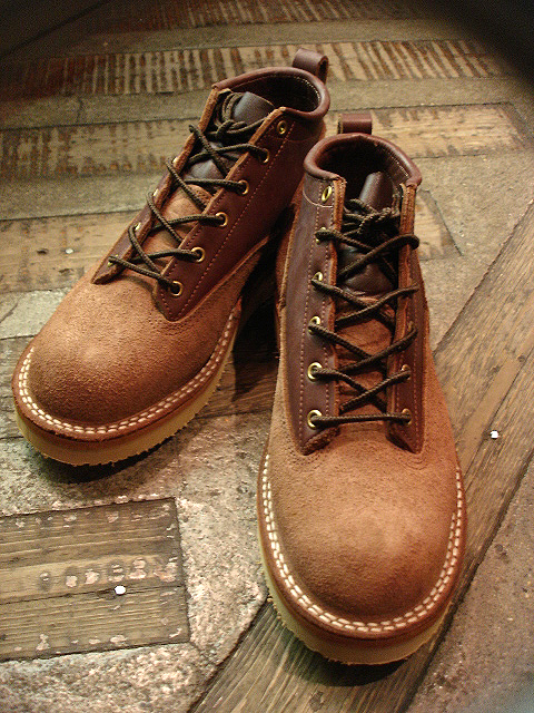 "NEW : [NICK\'S BOOTS] ""OXFORD 4inch\"" Oiled & Rough Out Leather !!_a0132147_212679.jpg"
