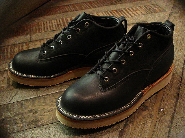 "NEW : [NICK\'S BOOTS] ""OXFORD 4inch\"" Oiled & Rough Out Leather !!_a0132147_292862.jpg"