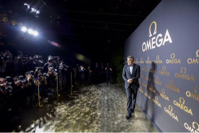 ジョージ・クルーニー、オメガのエクスクルーシブイベントに登場!_f0039351_20435726.jpg
