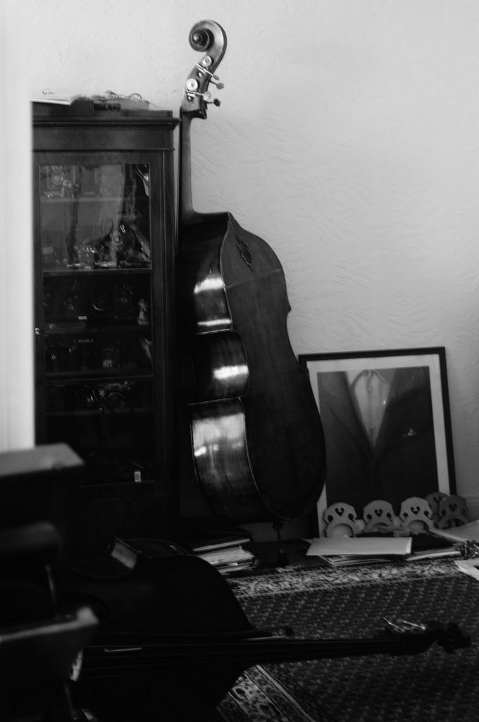 楽器のモノクローム写真。_c0180686_08053943.jpg