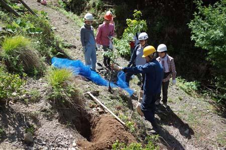 【報告】5月17日(土)松山の整備とちょこっと植林(前半)_e0032609_01215853.jpg
