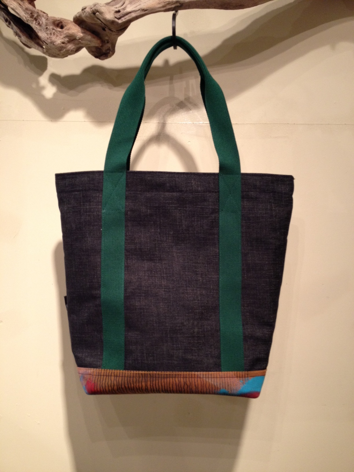 W FACE TOTE BAG(DENIM Ver.)_f0126931_18205516.jpg