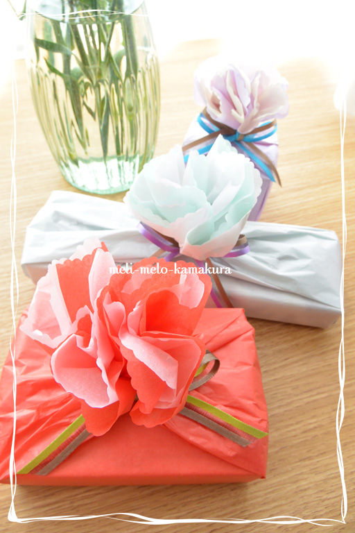 ◆Wrapping*Mother\'s Day_f0251032_214431100.jpg