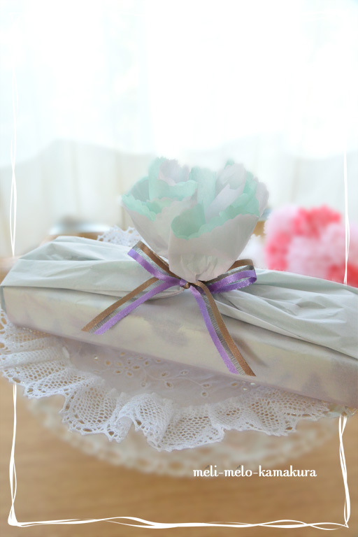 ◆Wrapping*Mother\'s Day_f0251032_21445027.jpg