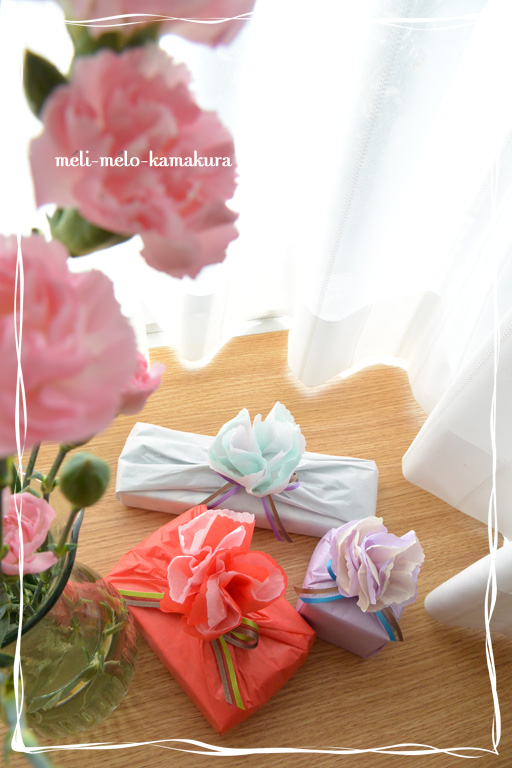 ◆Wrapping*Mother\'s Day_f0251032_21532086.jpg