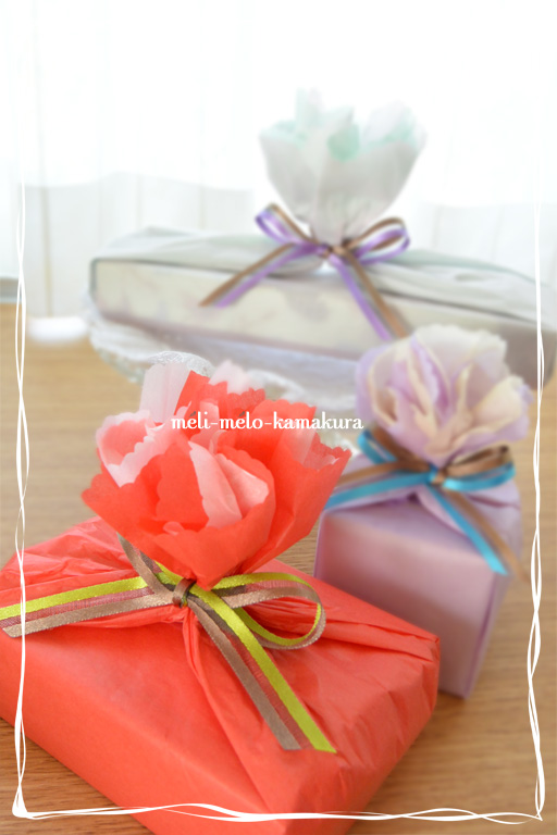 ◆Wrapping*Mother\'s Day_f0251032_2153589.jpg