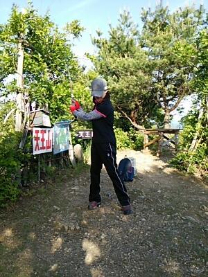 天王山登頂!_a0272042_21213357.jpg