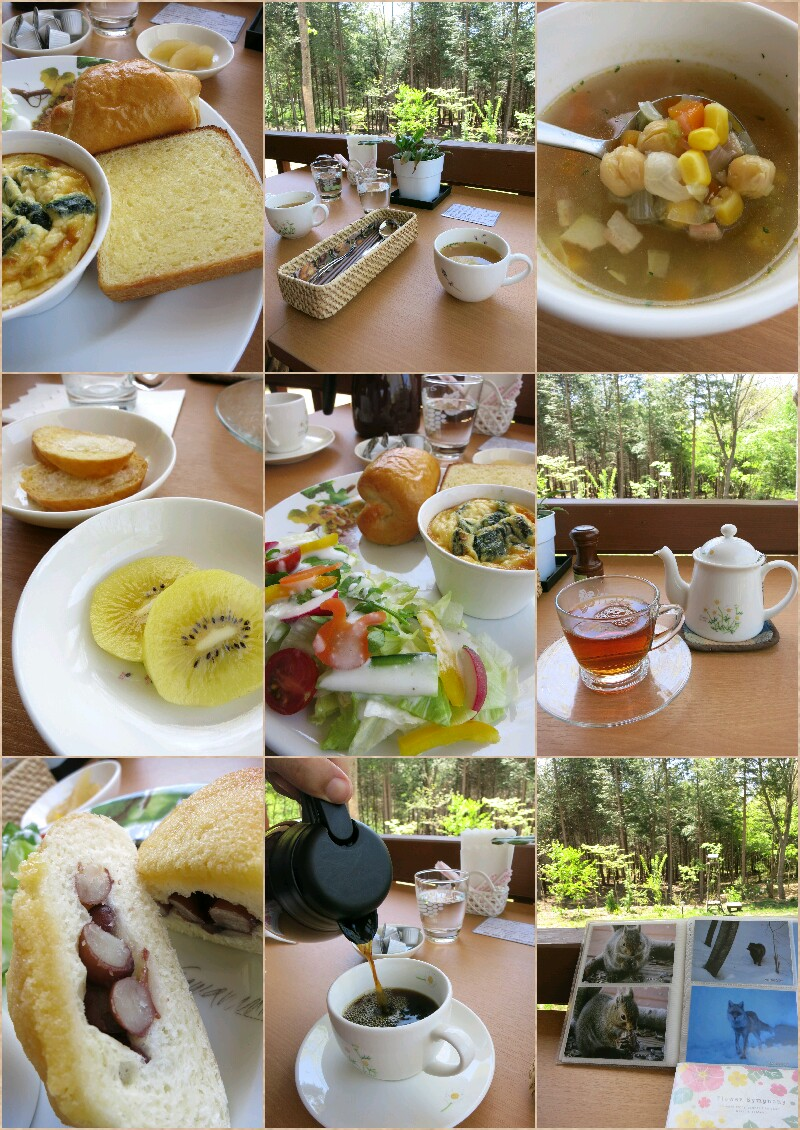 森のカフェ『 L\'PIC』ル・ピック ❤ モーニングプレート♪<閉店>_f0236260_21364926.jpg