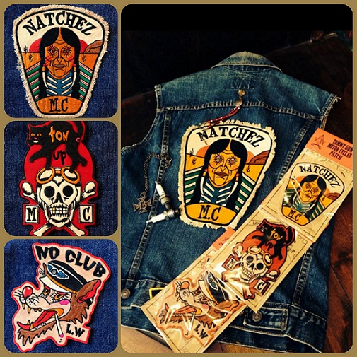 MOTOR CYCLES PATCH  3型入荷_c0198582_162422.jpg