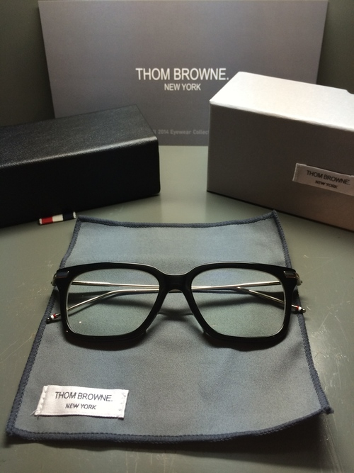 """THOM BROWNE., UE & Shwood ... Stylish \""""EYE WEAR\""""_c0079892_16365822.jpg"""
