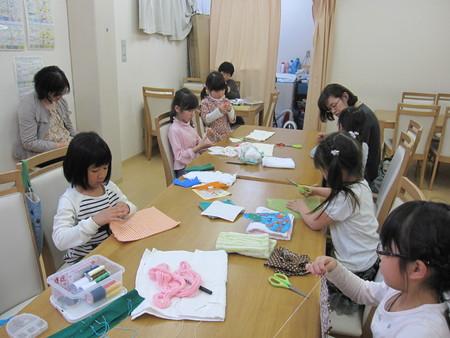 松井山手教室 ~ぞうきん縫い~_f0215199_19592667.jpg