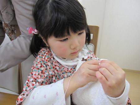 松井山手教室 ~ぞうきん縫い~_f0215199_2001053.jpg