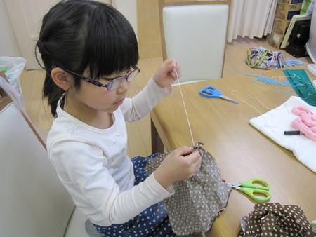 松井山手教室 ~ぞうきん縫い~_f0215199_2002785.jpg