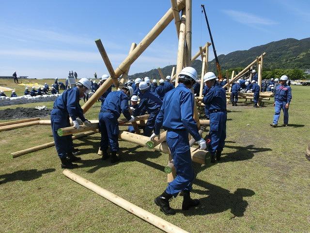 水害防止はハード、ソフトの両面から! 富士市水防訓練_f0141310_7341738.jpg