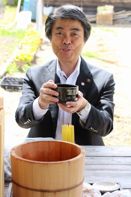市長初桶茶!_b0220318_1152682.jpg