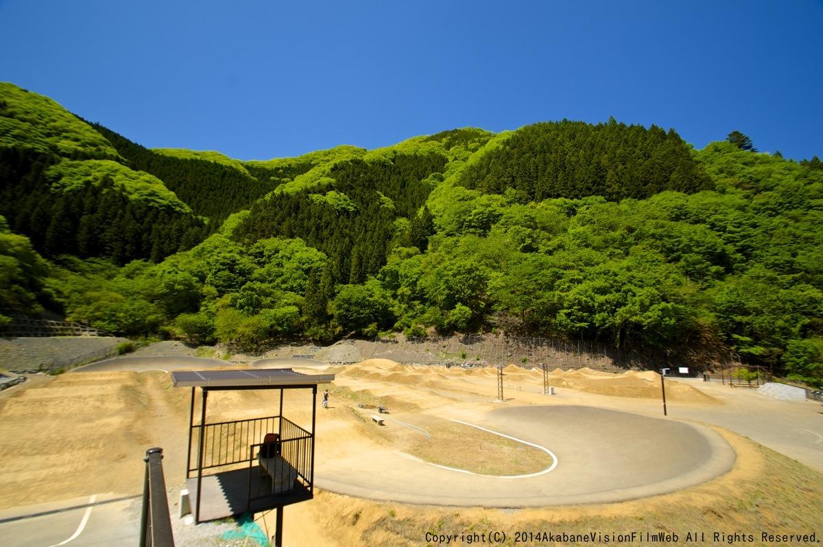 5月17日秩父滝沢サイクルパークBMXトラックの風景_b0065730_19491017.jpg