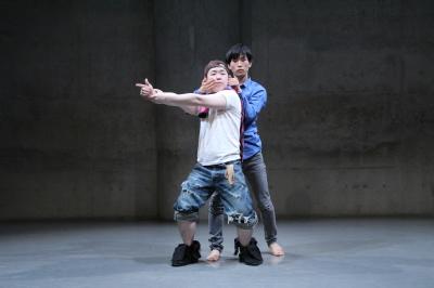 ダンスとコント劇がぎっしり詰まった「lulu」公演終わる_d0178431_20151617.jpg