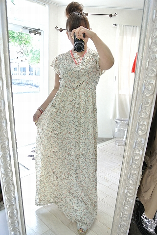 Cotton dress♪_a0159045_12051303.jpg
