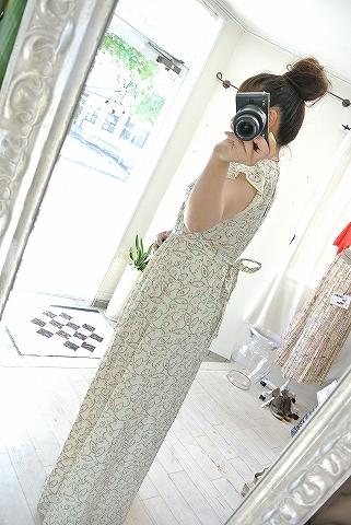 Cotton dress♪_a0159045_12051304.jpg