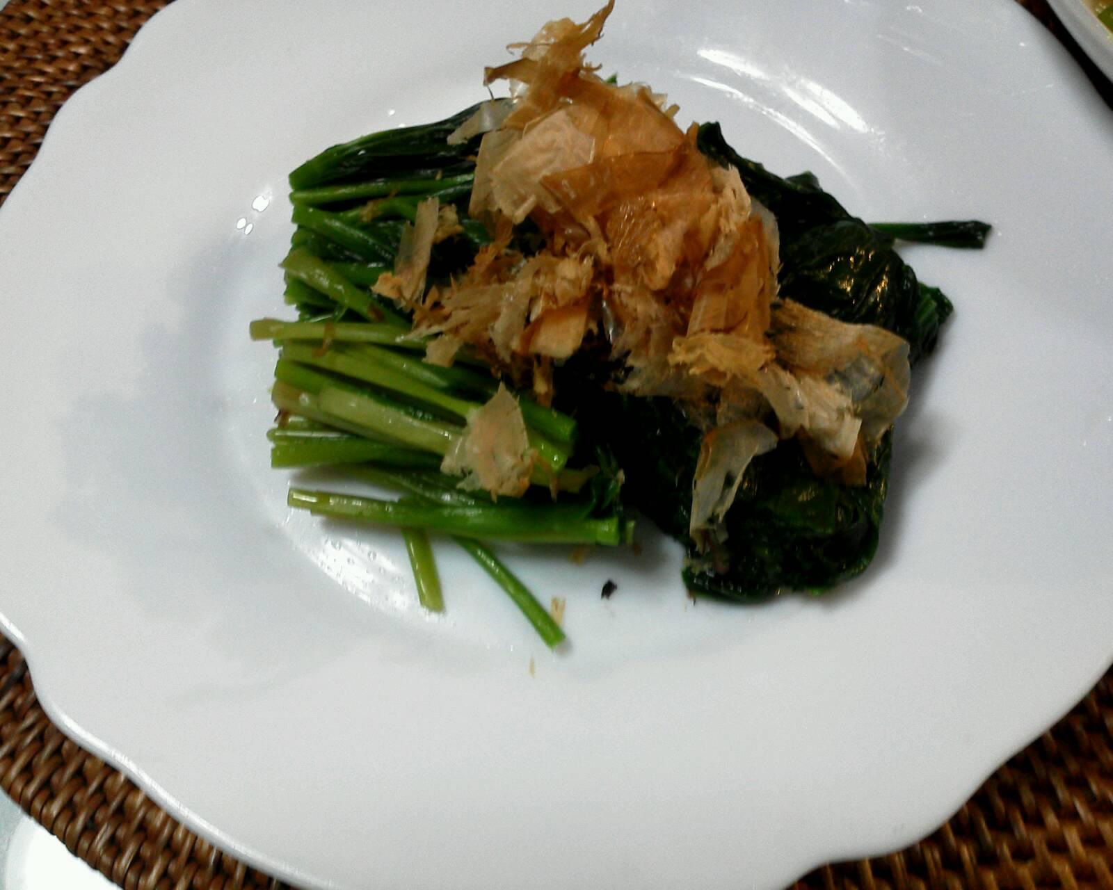 山菜 あずきな・うど_b0236665_8201933.jpg