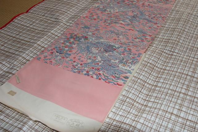 ピンクの着物をグレー系に染め変える_f0229190_21010855.jpg