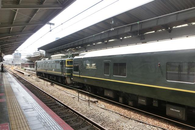 寝台特急列車トワイライトエクスプレス大阪駅で、日本海を走り札幌から大阪へトワイライトエクスプレス走る_d0181492_532222.jpg